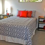 简约温馨小户型别墅设计卧室摆件