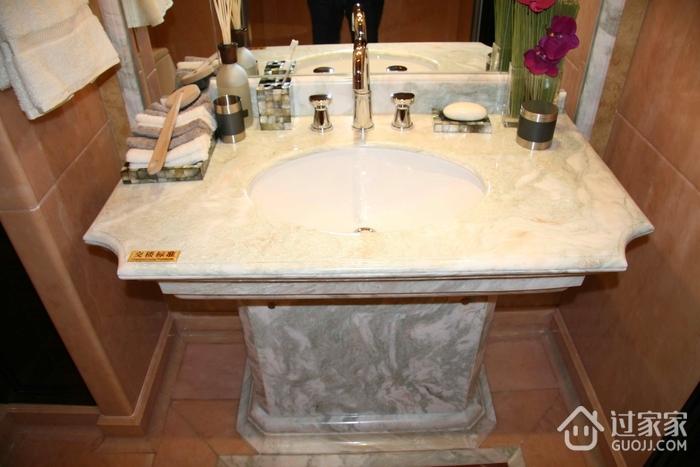 豪华欧式风格大理石洗手台