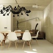 仓库改造的私人公寓欣赏餐厅陈设