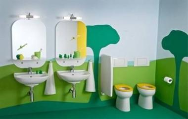 装修必知 儿童浴室设计3大注意事项