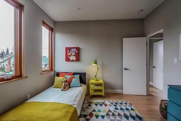 奥克兰现代家居别墅住宅儿童房
