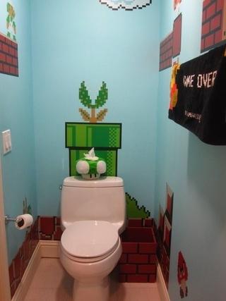 混搭彩色住宅欣赏卫生间