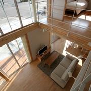 158平日式风格别墅欣赏客厅陈设