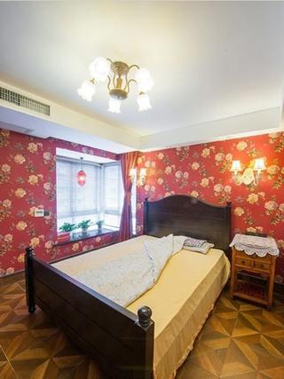 怀旧复古混搭三居欣赏卧室