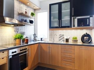 43平宜家单身公寓欣赏厨房