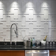 简约风格住宅效果套图赏析厨房背景墙