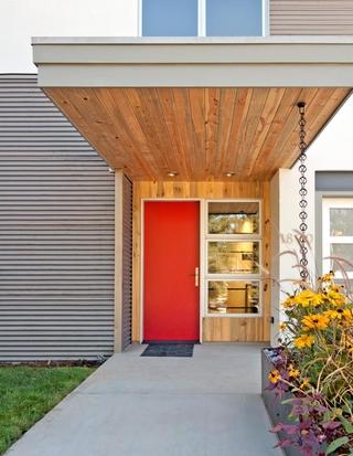 简约风格复式装饰样板房设计室外