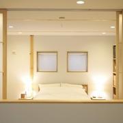86平日式风格复式楼欣赏卧室