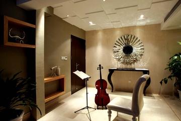 现代古典练琴房