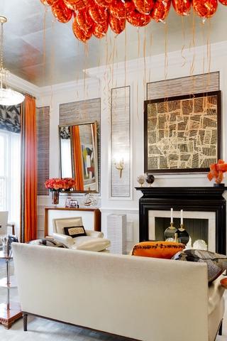 混搭风格别墅效果图客厅效果图设计