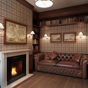 86平简欧三居案例欣赏客厅设计