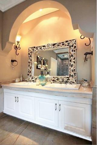 新古典自热别墅欣赏洗手间设计