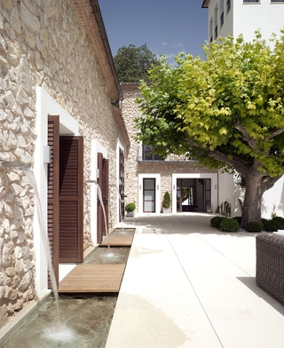 简约乡村别墅庭院设计