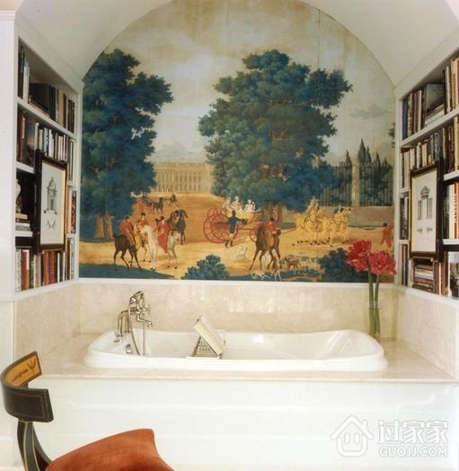 美式别墅装饰套图欣赏卫生间陈设