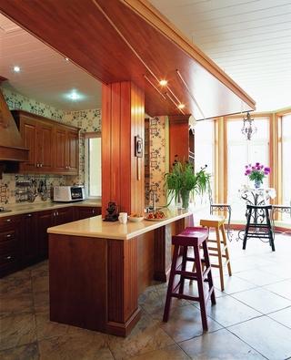 185平东南亚住宅欣赏厨房
