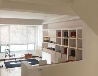 日式淡雅出彩复式欣赏书房