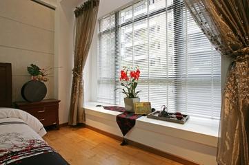 温馨新中式风格三居欣赏卧室