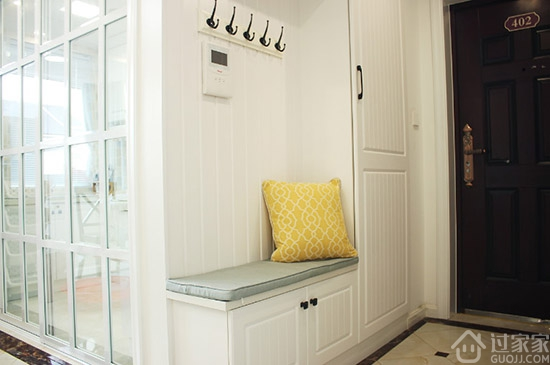 120平米北欧风格装修 阳台洗衣池别致又实用图片