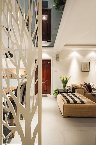 85平宜家风三居室装修案例