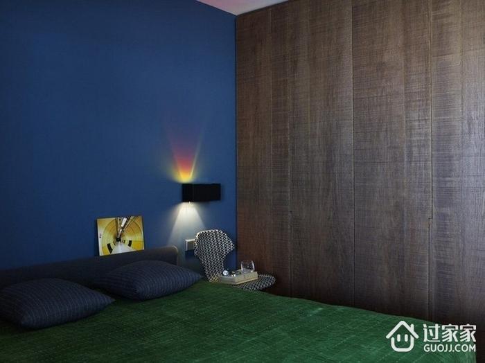 灰色空间现代住宅欣赏卧室衣柜