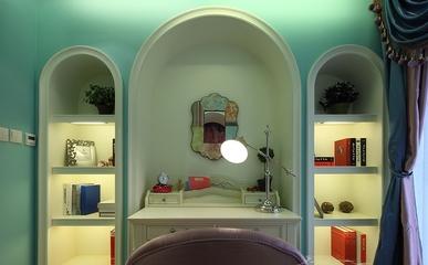 美式高品质住宅欣赏书房陈设