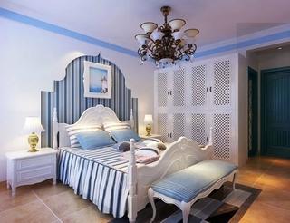 94平地中海住宅欣赏卧室