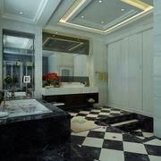 奢华新古典四居室欣赏卫生间效果图