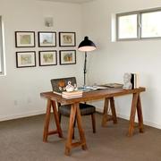 现代简约效果套图书房书桌
