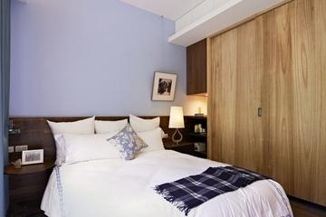 114平简约三居室住宅欣赏卧室设计