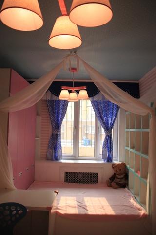 粉丝简约小屋欣赏卧室飘窗
