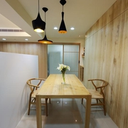 93平优雅日式风格欣赏餐厅