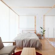 67平日式风格别墅欣赏卧室效果