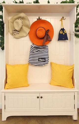浪漫地中海玄关鞋柜 美丽又实用
