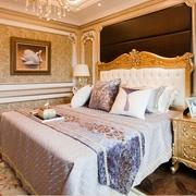 迷情欧式风住宅欣赏卧室背景墙设计