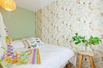 白色北欧小屋欣赏卧室灯饰