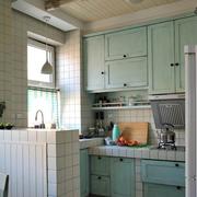轻松舒适田园住宅欣赏厨房