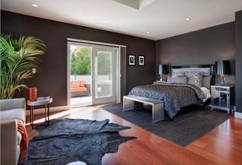 现代唯美彩色住宅欣赏卧室陈设