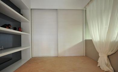 64平清爽两居室欣赏卧室书架