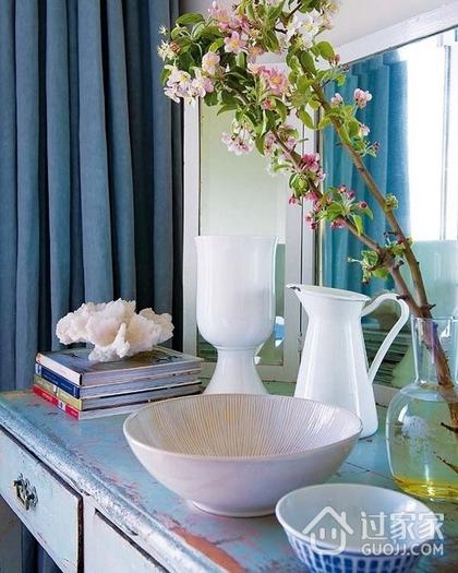 混搭客厅花艺装饰效果图 别具一番风味