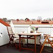 43平现代有爱一居室欣赏阳台