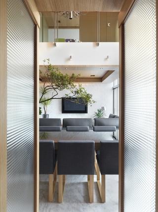 145平现代舒适复式欣赏餐厅