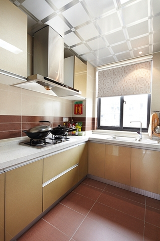 110平简约三室两厅欣赏厨房设计