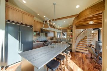 美式风格效果图厨房