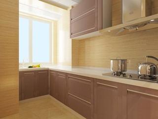 厨房橱柜设计效果图 极简的美