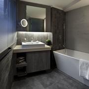 现代风家居设计卫浴间