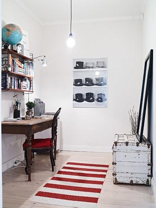 北欧小户型公寓设计欣赏书房