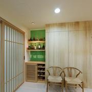 93平优雅日式风格欣赏卧室局部