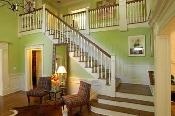 美式乡村效果图楼梯