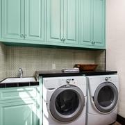 简欧风格效果图洗衣间