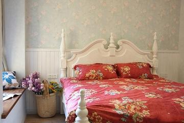 地中海小资户型住宅欣赏卧室飘窗